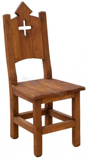 Krzesło woskowane Hacienda H6