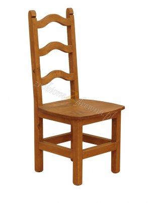 Krzesło woskowane Hacienda H1