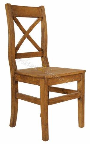 Krzesło woskowane Hacienda H2
